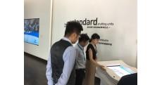上海市领导一行参观润盈工厂